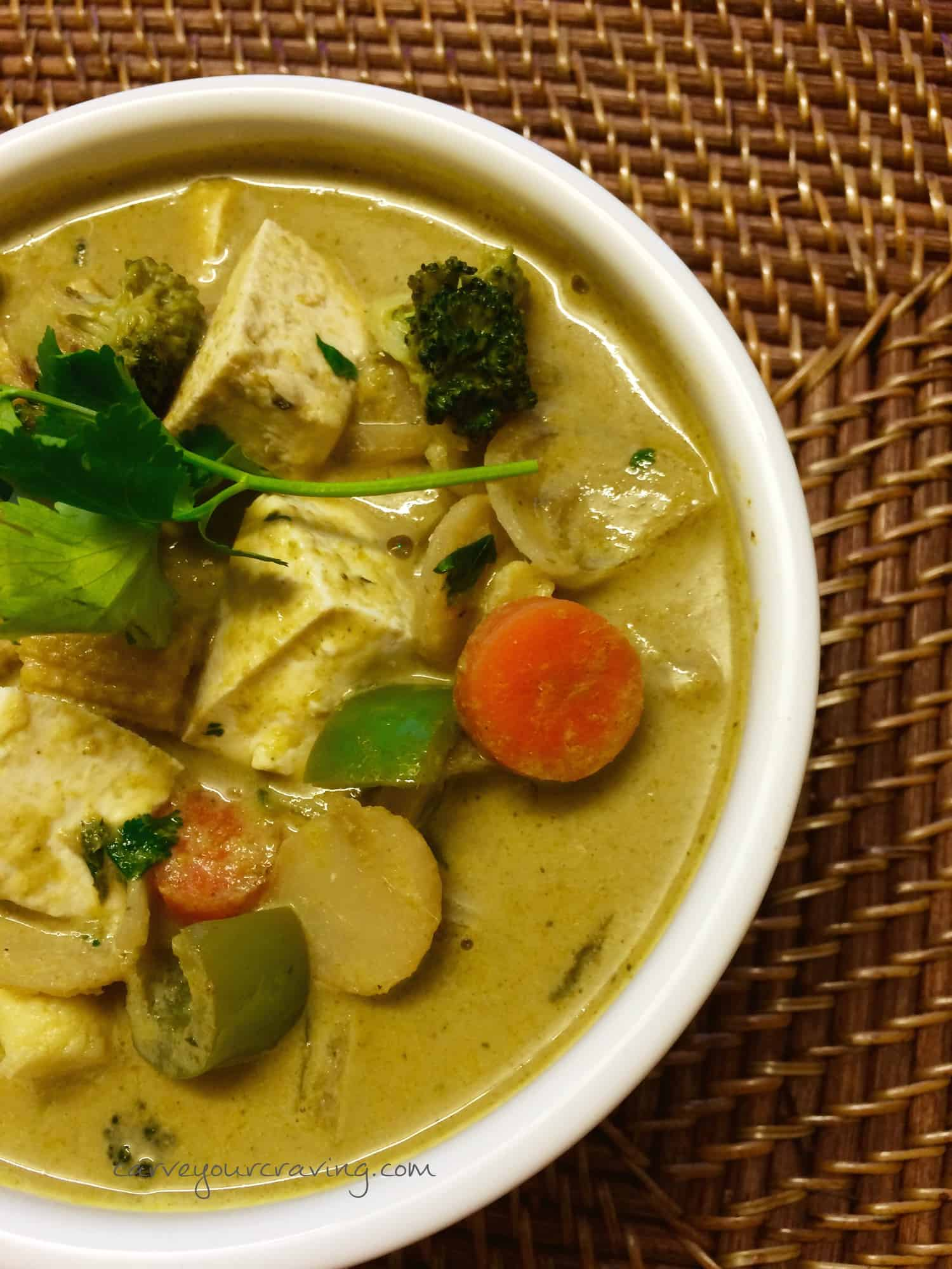 Best Vegan Green Thai Curry
