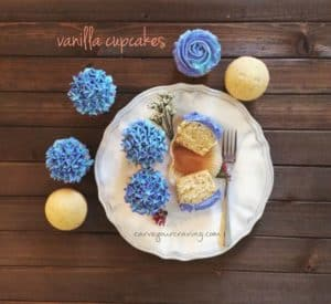 easy eggless vanilla cake and cupcakes