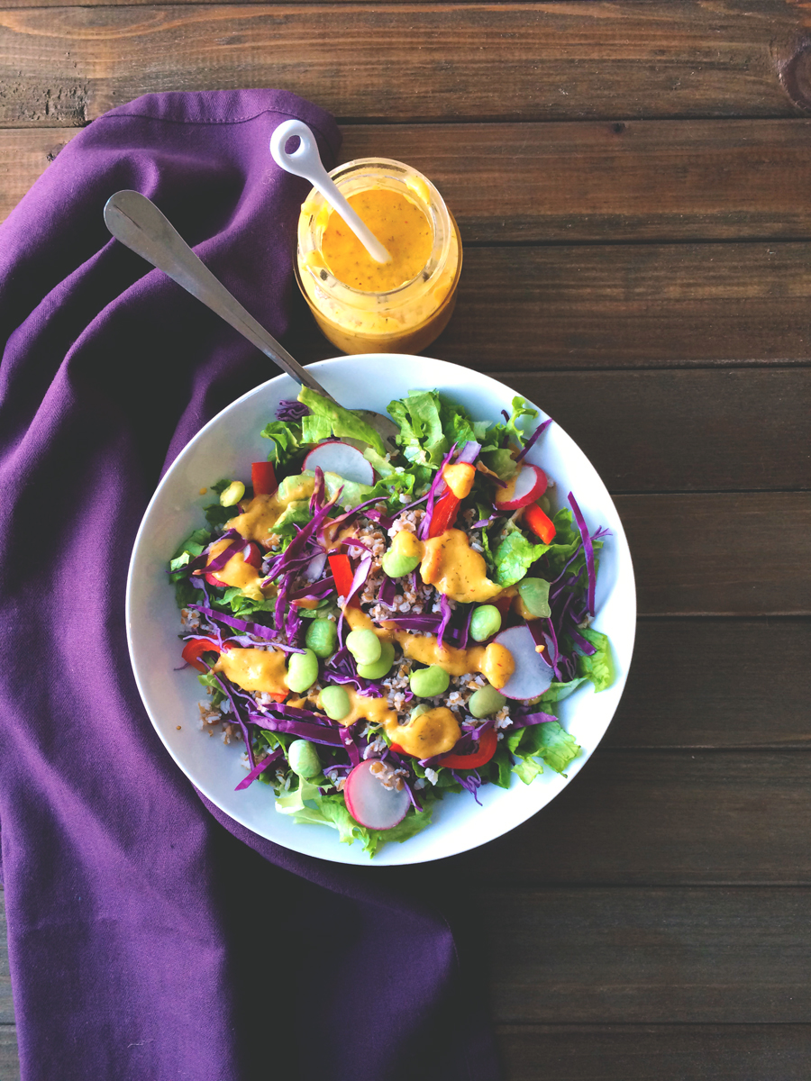bulgur wheat mango salad
