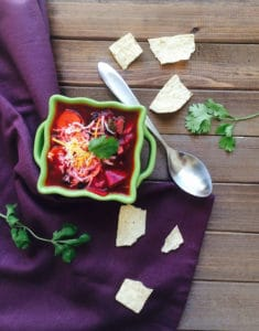 Vegan Beetroot Chili One Pot Meal