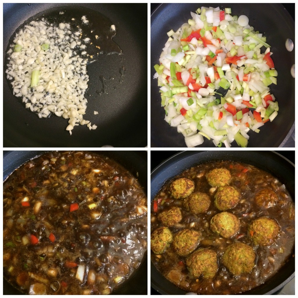 Easy no fry Veg Manchurian gravy - indo chinese , vegan