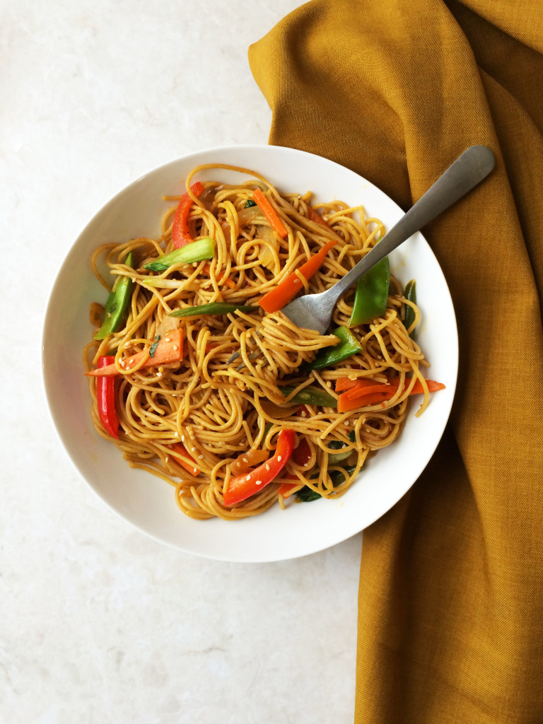 stir fry chilly garlic noodles