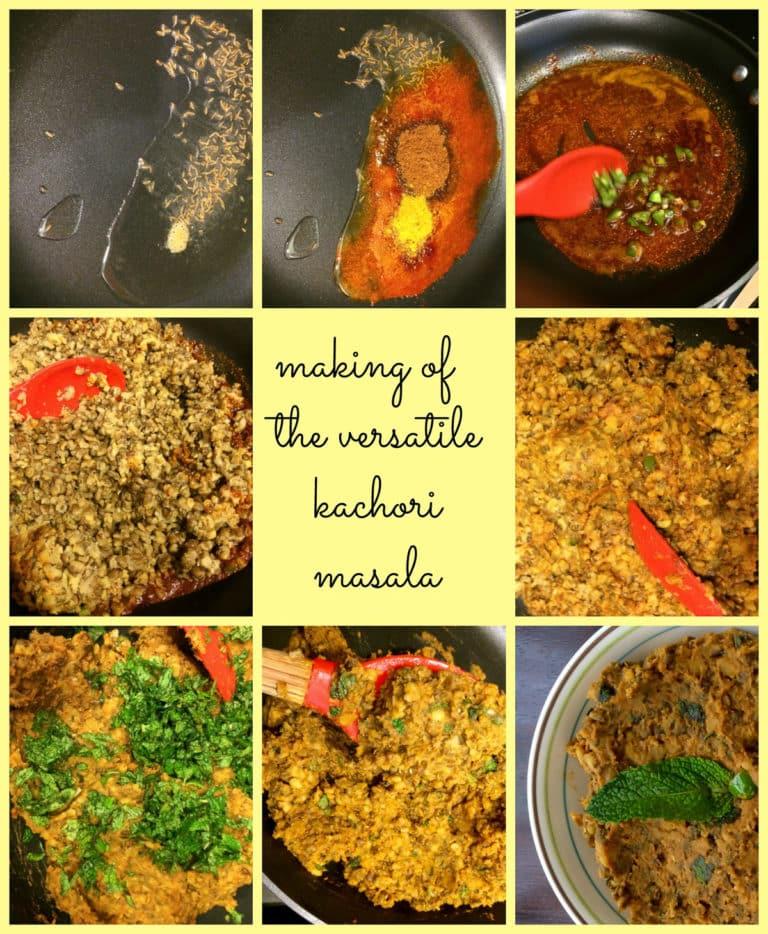 kachori making