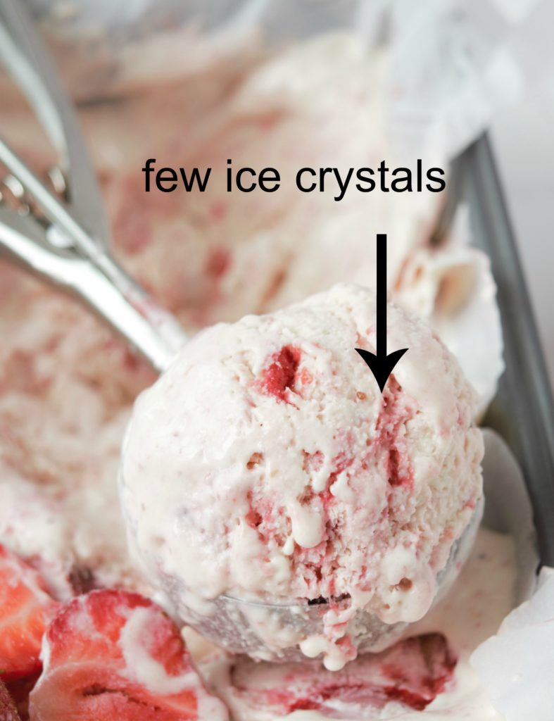 Easy eggless strawberry icecream without an icecream maker