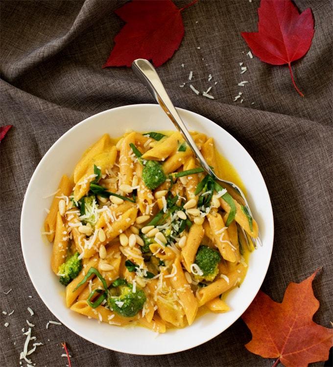 veggie-booster-pasta-in-creamy-butternut-squash-sauce-6