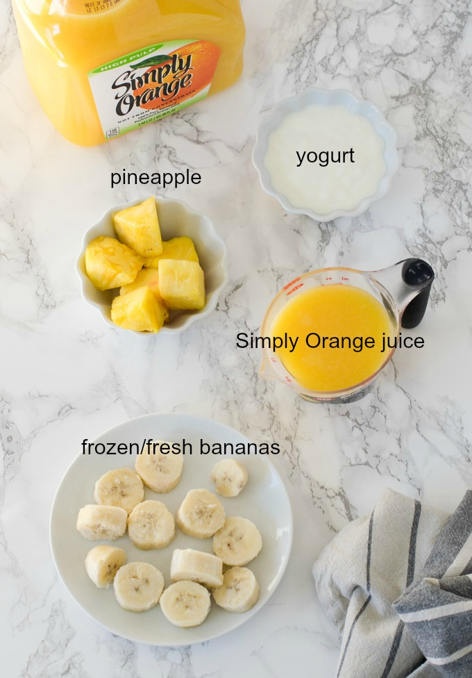 orange-colada-smoothie-ingredients easy