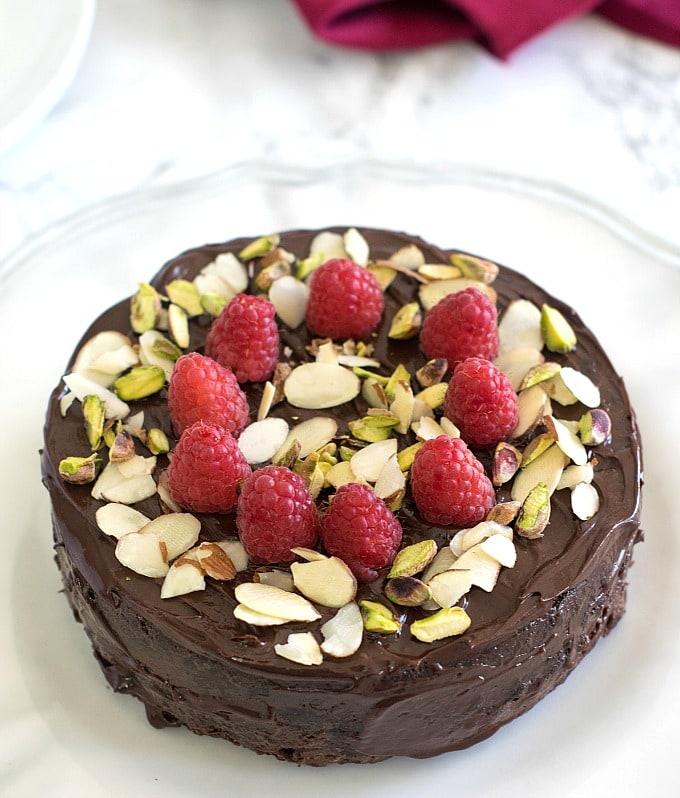 Best Vegan Chocolate cake in instant pot / pressure cooker / baking
