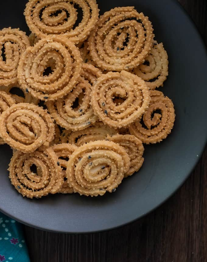 how to make chakli crispy