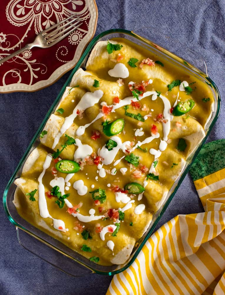 Vegan Enchilada Verdes