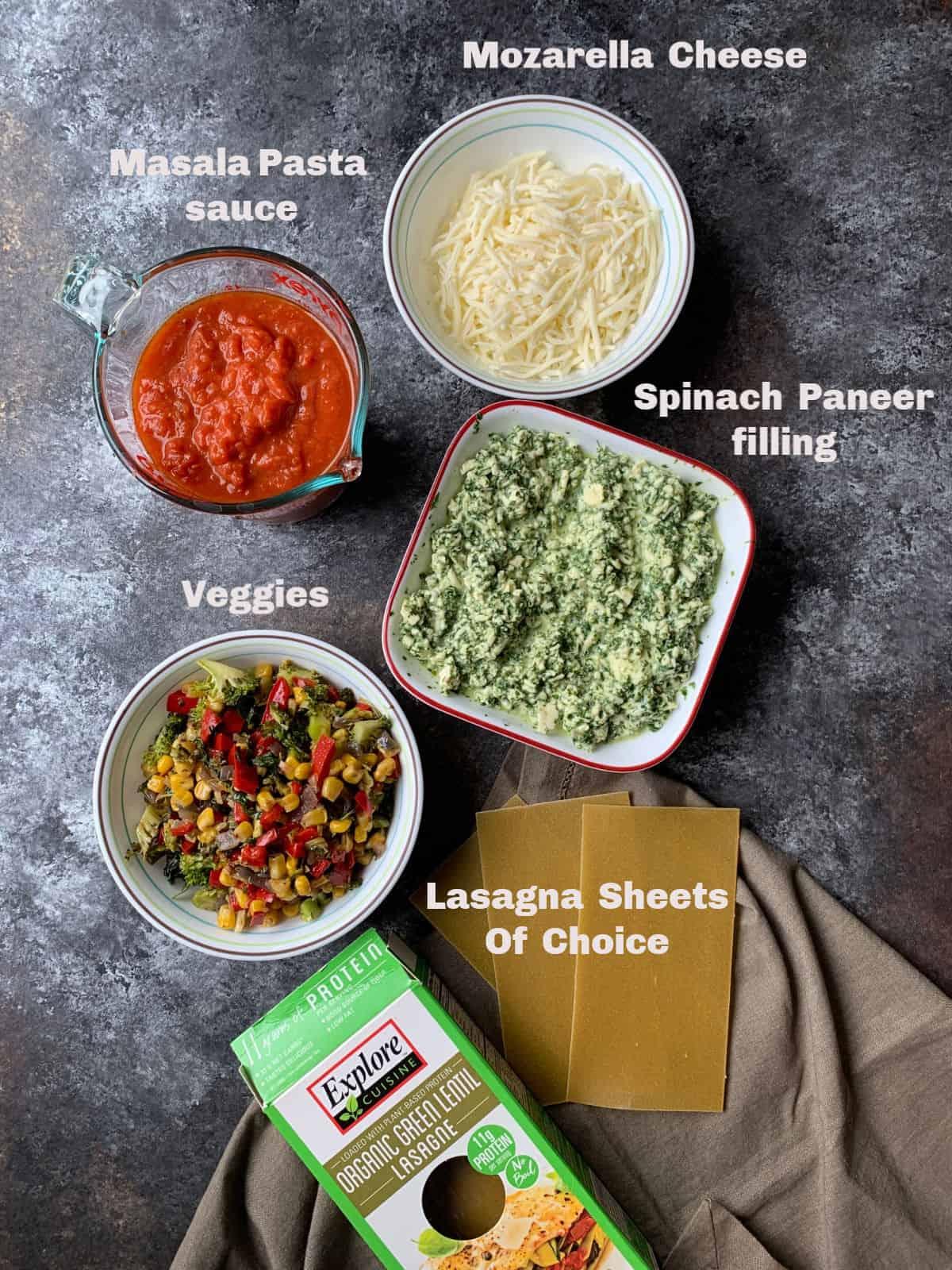 veg lasagna - carve your craving