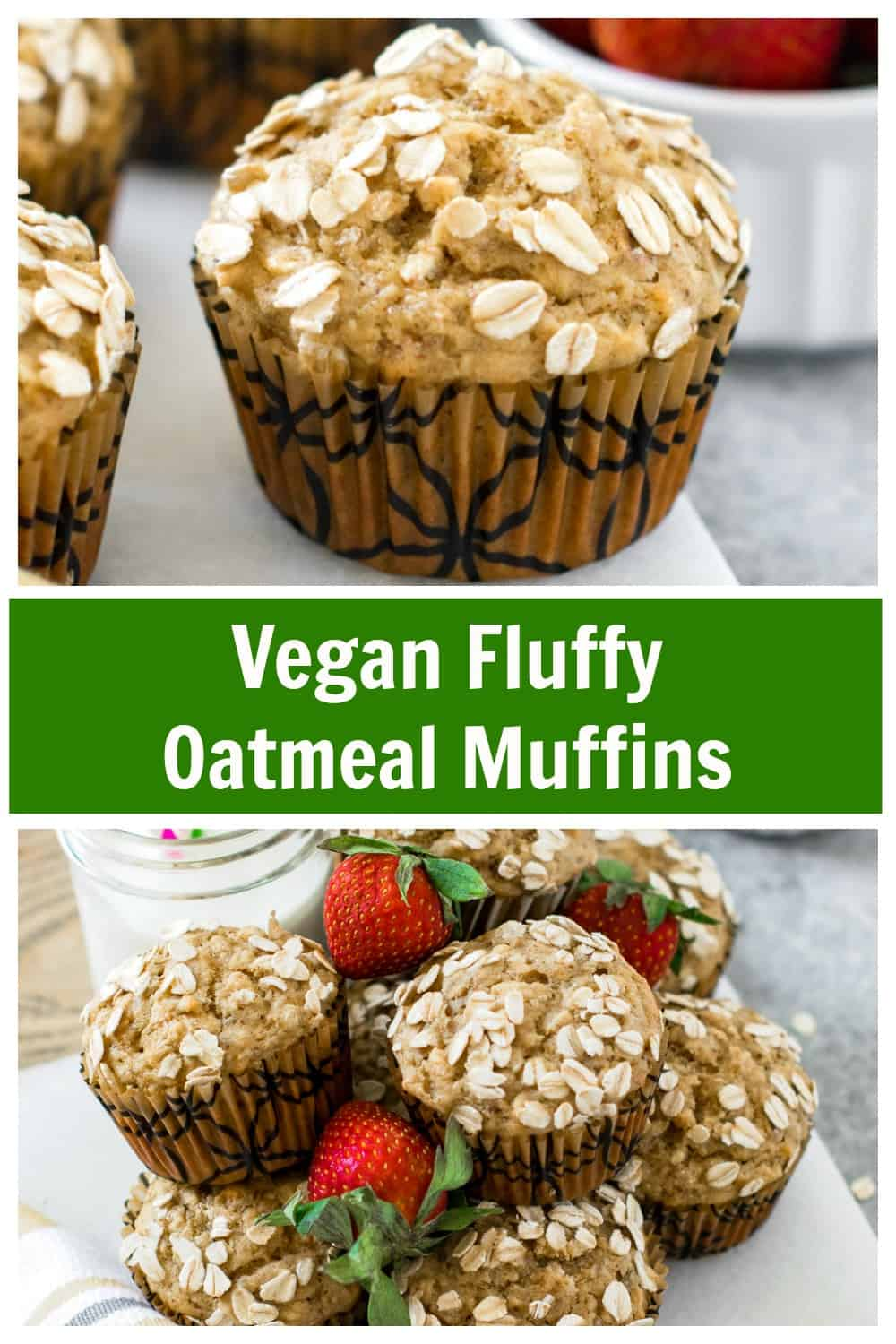 Pin the flufy oatmeal muffin recipe for fututre reference