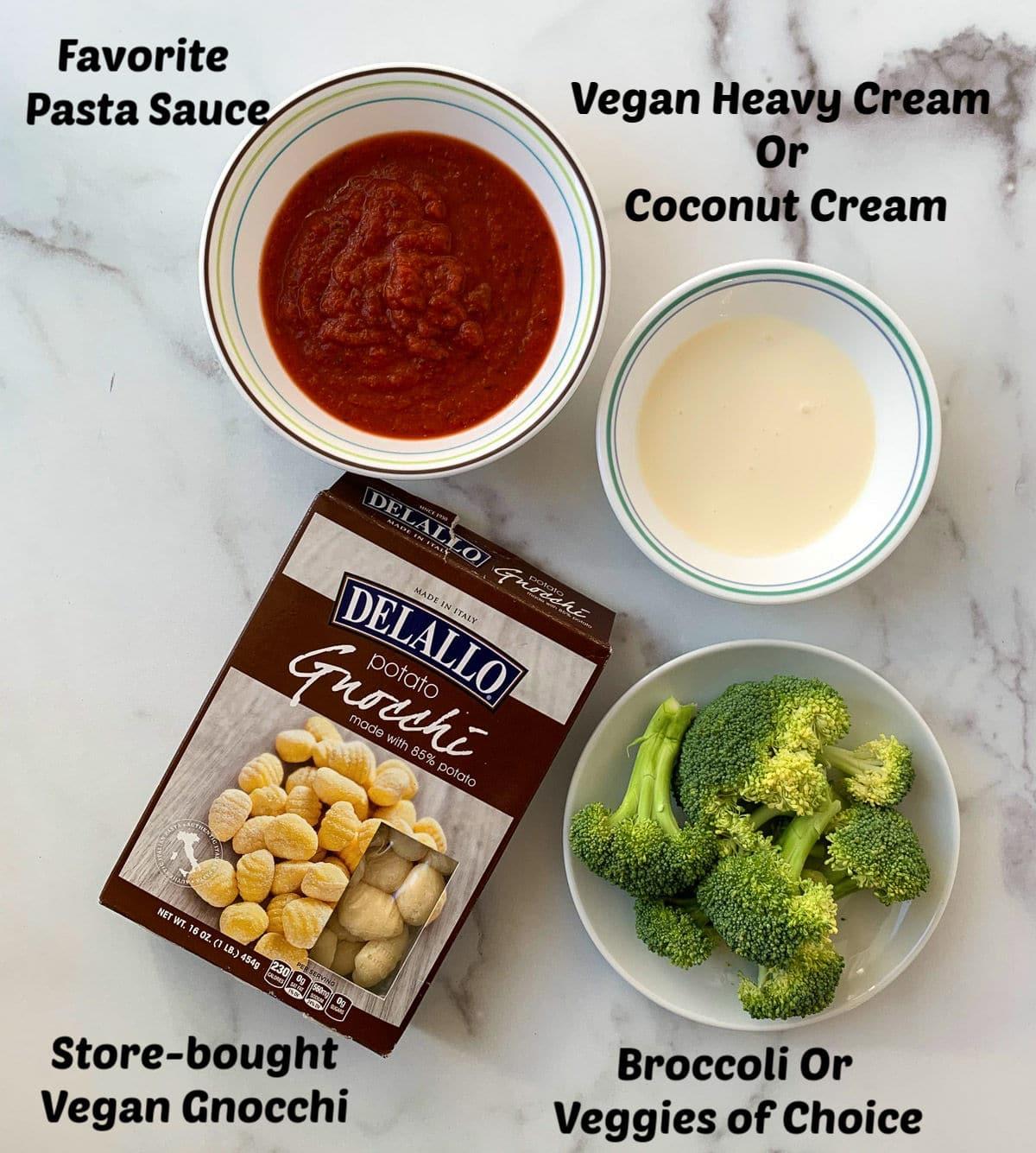 4 ingredient gnocchi making recipe